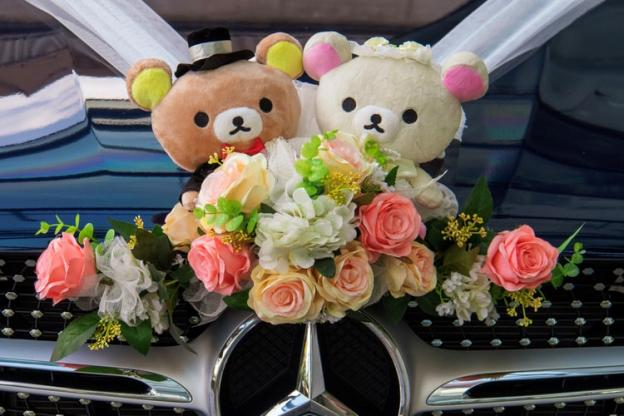 How To Decorate Wedding Cars